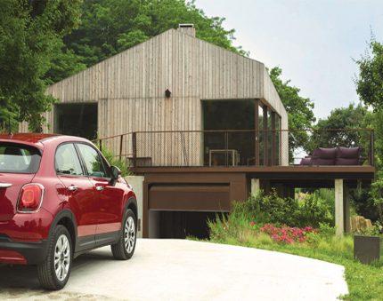 Portes de garage basculantes automatisées