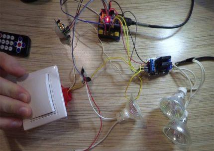 Assemblage d'éclairage basé sur Arduino