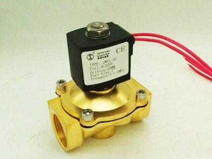 Volatility of the solenoid valve