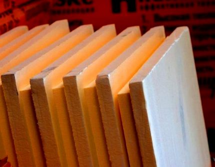 Extruded Expanded Polystyrene Plates