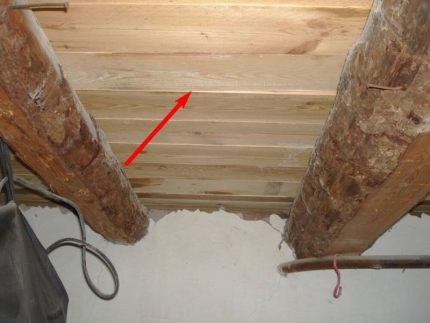 Bonne ventilation souterraine
