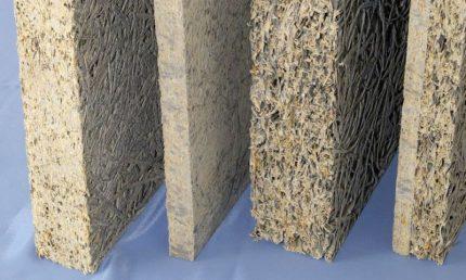 Panneaux de fibres pour l'isolation