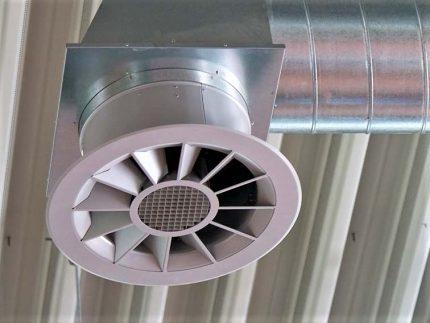 Ventilateur d'échappement de tuyau
