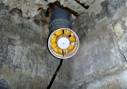Ventilateur d'extraction