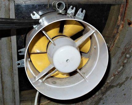 Ventilateur de sous-sol