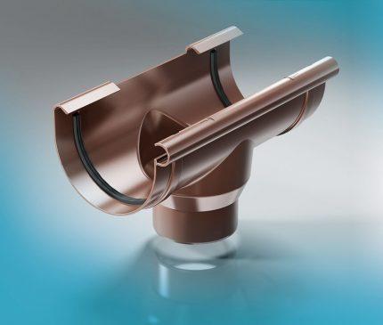 Outlet funnel