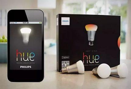 """Philips"" Hue lemputė"