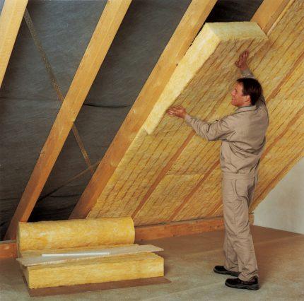 Insulation for the attic