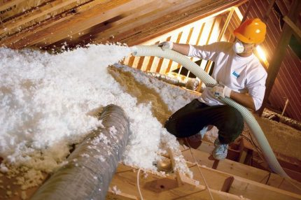Ecowool insulation