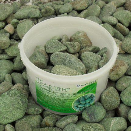 Jadeite for a bath