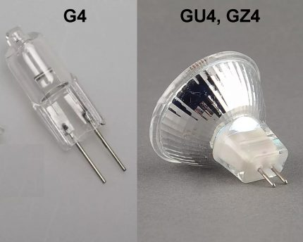 Lamps with G4 socket