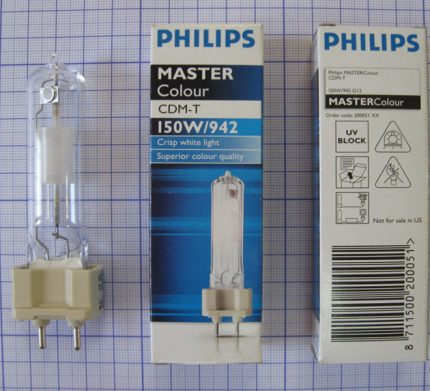 Lamps with socket G12