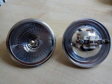 Lamp with socket G53