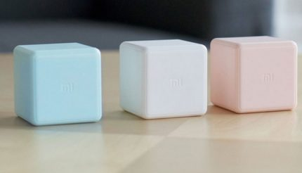 Cube-shaped multi-function remote