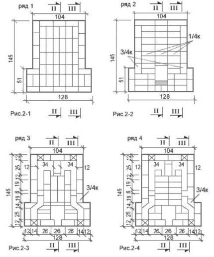 Scheme 1-4 rows
