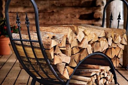 Firewood for the Russian stove