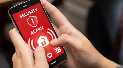 Security alarm