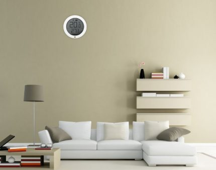 Thermostat avec affichage numérique