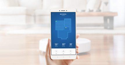 Contrôle du robot smartphone