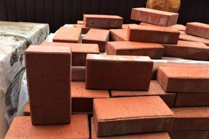 Select brick for Russian stove