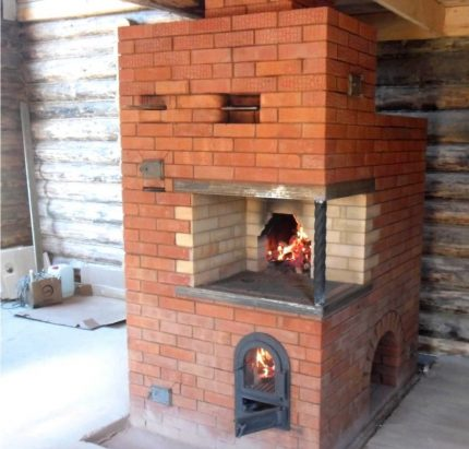Russian stove Housekeeper