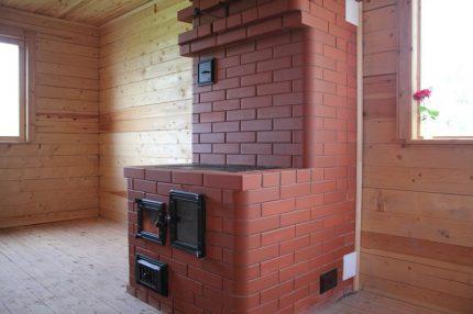 Potapov stove in the interior