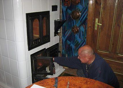 Tiled Volkov oven