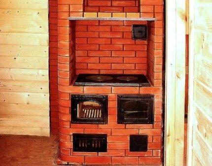 Swedish stove with stove