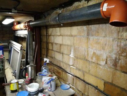 Ventilation et échange d'air dans le garage