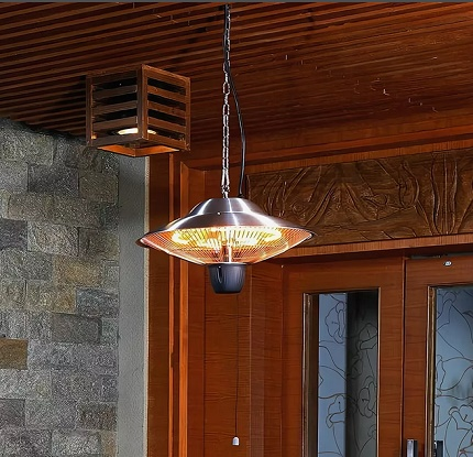 Infrared heater and lamp