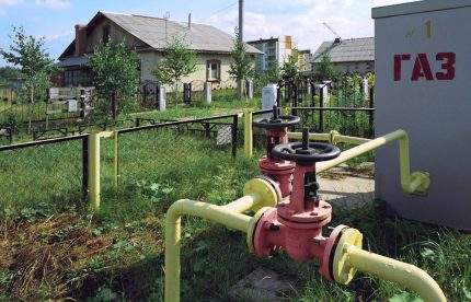 tuyaux de gaz