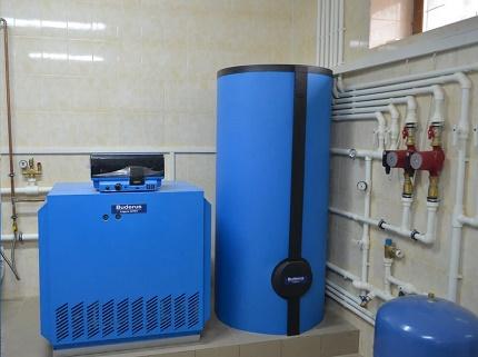 Chaudière à gaz atmosphérique