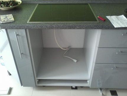 Dégagements de ventilation pour un four à gaz