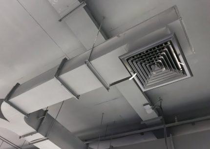 Rectangular duct