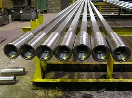 Variety of links of driving rods with couplings