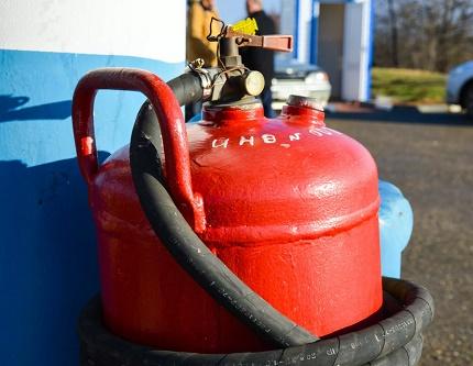 Processus de remplissage de bouteilles de gaz