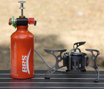 Bouteille de gaz pour un brûleur touristique