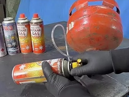 Purge de condensats par pulvérisation de gaz
