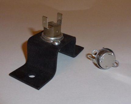 Thermostat de cheminée pour canal de chaudière à gaz
