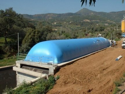 Disadvantages of gas holders