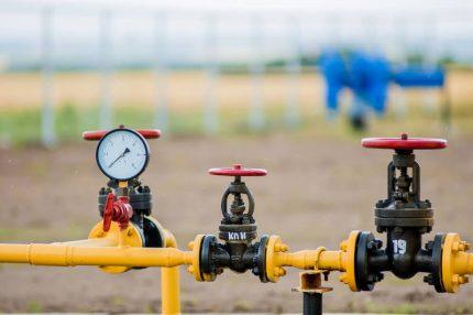 Tuyau de gaz avec robinets