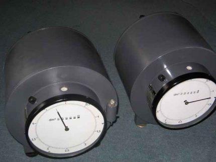 Drum type flow meter