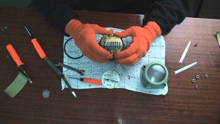 Réparation de compteur de gaz