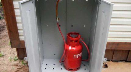 Connexion bouteille de gaz