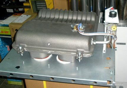 Échangeur de chaleur à convecteur en fonte