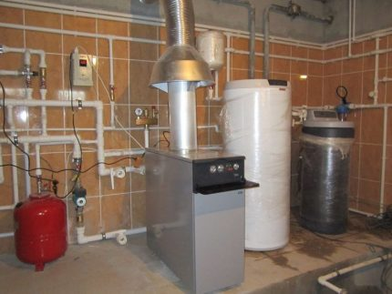 Features of gas boilers