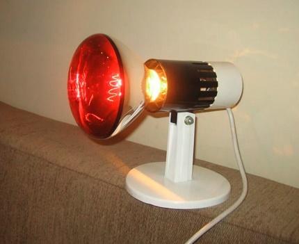 Heating infrared lamp