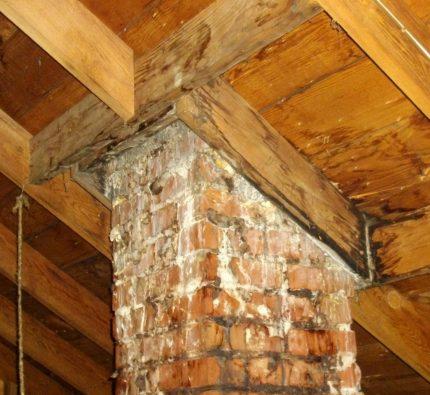 Condensat dans la cheminée