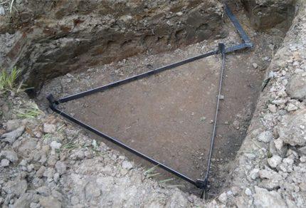 Vue naturelle de la boucle souterraine