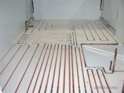 Heating with liquid coolant